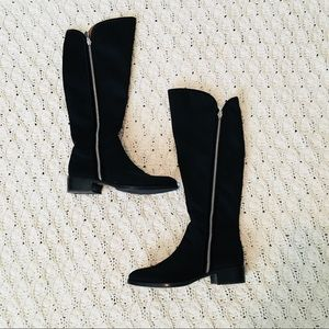 Donald J. Pliner Double Zip Knee High Boots